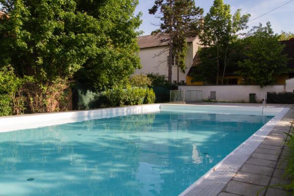 Wohnung mit Pool und Garten