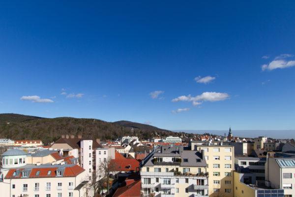 Fernblick über Baden